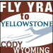 Yellowstone Regional Airport : Fly to Yellowstone - Fly to Cody, WY, 52 miles from Yellowstone National Park. Connecting from Denver and SLC, YRA and Cody are your ticket to car rentals, lodging, dining & western entertainment.