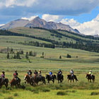 Yellowstone Wilderness - In-Park Trail Rides