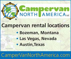 Campervan North America - Campervan Rentals.