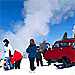 Yellowstone Alpen Guides Snowcoach Tours - Individual and daily tours of Yellowstone in top quality historic snowcoaches to photograph wildlife and park scenery in winter. Kids = $99, seniors = $119, adults = $129.