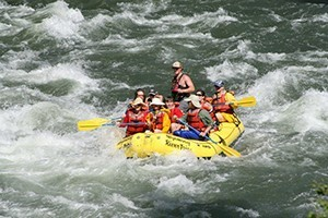 Wyoming River Trips Scenic/Whitewater Rafting
