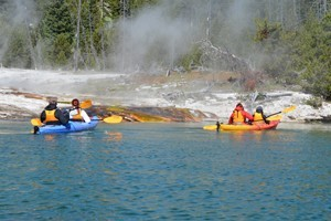 Shurr Adventures :: Shurr Adventures offers guided yellowstone kayaking tours and much more. Operated by owners/guides Justin and Alli Shurr. We paddle in small groups!