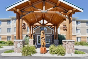 Lodging at Yellowstone - hotels around the Park :: Select from among 4 of our family of hotels located in West Yellowstone (Park's west entrance) and Cody (Park's east entrance). Top-rated, great prices, and Pet Friendly.