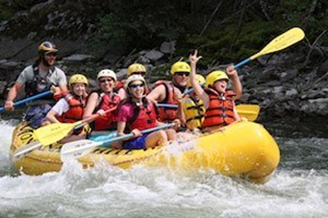 Montana Whitewater Rafting & ZipLine Tours :: Splashy whitewater on the Yellowstone River, ZIPLINE tours on a private mountain ranch & horseback rides in & around YNP. Discount Packages- the ZIP & DIP (raft/zip) only $87!