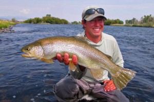 Hooked Outfitting - guided fishing trips :: Offering guided fly-fishing trips in Yellowstone Park, Ennis Montana and the Lower Madison near Bozeman Montana. Being based in Ennis, we know local waters well.