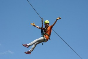 Yellowstone Raft Company - Zipline Adventure :: Save $10 off each pass to Yellowstone Aerial Adventure Park booked through us. A great complement to our scenic and whitwater raft trips in Gardiner.