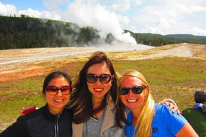 Yellowstone Hiking Guides - we are geyser junkies