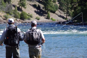 Lost Fork Outfitters - fly fishing at its best :: Courteous, professional fly fishing guides. Float and wade fishing trips in Yellowstone Park & Madison River. All ages welcome. Beginner to expert. All equipment provided.