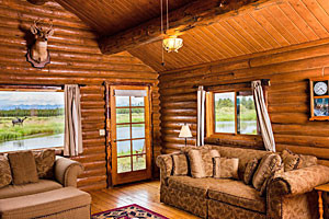 Bar N Ranch - lodge rooms, cabins and fine dining :: Beautiful 200-acre site features guest lodge & cabins near the Madison River. On-site restaurant, fly fishing, pool & hot tubs 6 miles from Yellowstone. 1, 2 & 4-bdrm units.