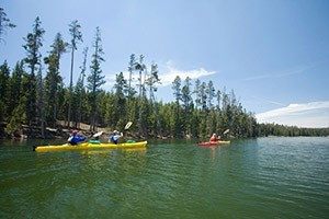 OARS - Kayak Yellowstone Lake - save 10% Online
