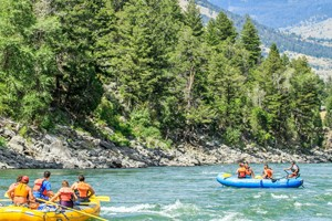 Flying Pig Rafting - float trips near Yellowstone