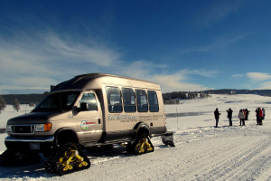Yellowstone National Park Snow Coach Winter Tours Alltrips