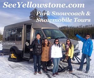 See Yellowstone Tours - The Best in Yellowstone : Providing exceptional summer & winter adventures in Yellowstone, we offer great lodging choices, guided snowcoach or snowmobile tours and equipment rental and clothing. In summer, our  picture-window vans allow easy access to photography and comfortable riding around the Park.