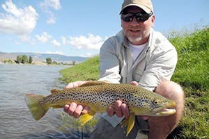 Catching Fish In Yellowstone National Park