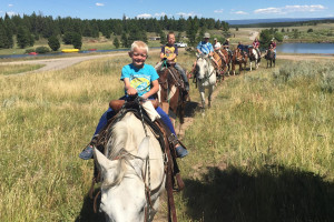 Yellowstone Horse Rides in Island Park