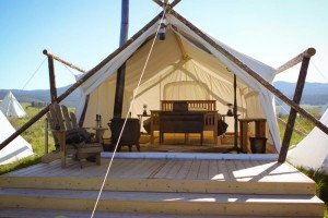 Yellowstone Under Canvas - Luxury Tent Cabins