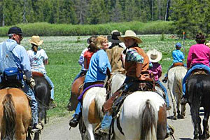 Teton Wagon Train