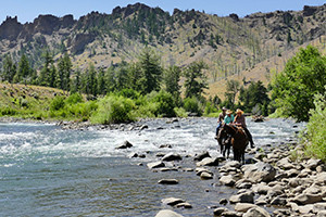 East Yellowstone Horseback Riding