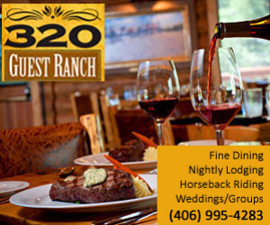 320 Guest Ranch, Cabins & Dining