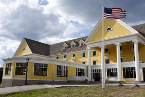 Lake Yellowstone Hotel - an architectural wonder