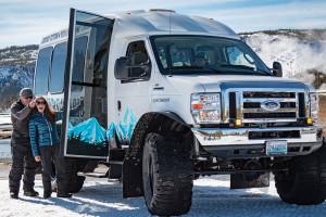 Scenic Safaris Yellowstone Snowcoach Tours