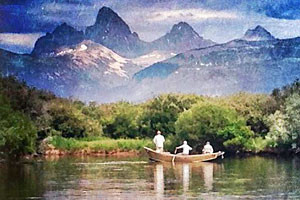 Teton Valley Lodge - on banks of Teton River