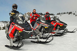 Backcountry Adventures - snowmobile rentals