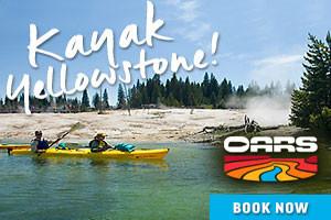 OARS - Kayak Yellowstone Lake - save 10% Online