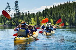 OARS - Yellowstone & Teton Park family getaways