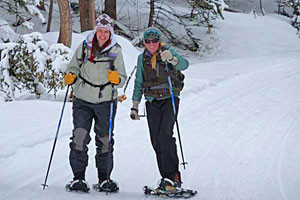 Adventure Yellowstone - In Park Snowshoeing