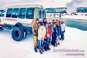 SeeYellowstone Winter Snowcoach Tours