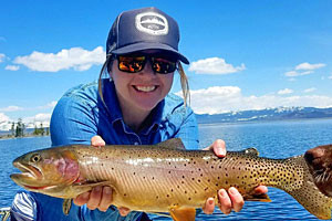 Jackson Hole Anglers - trophy fishing on the Lake