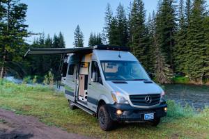 Blacksford Sprinter RV Rental - at Bozeman Airport