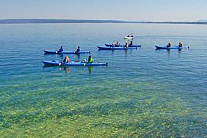 Lake Kayak Tours | Yellowstone Hiking Guides