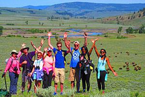 Yellowstone Hiking Guides | Hike, Van & Kayak
