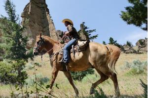 Bill Cody Ranch: Horseback Riding near Yellowstone