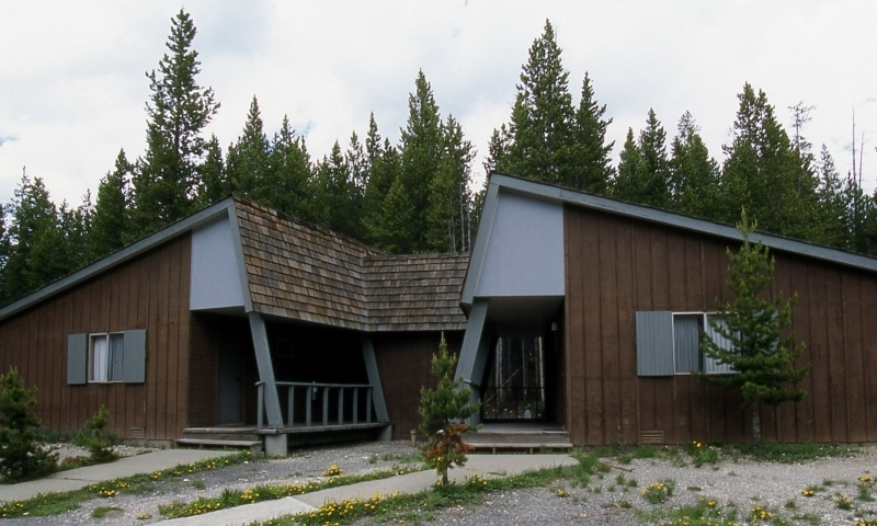Canyon Village Yellowstone Lodge Cabins