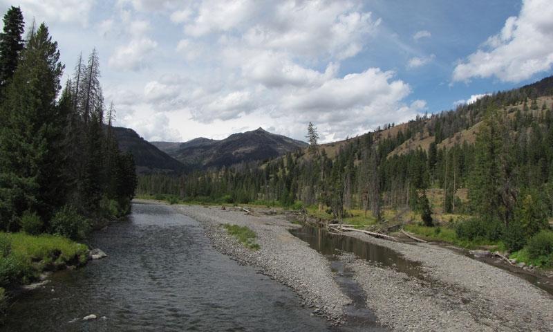 North Fork of Shoshone River