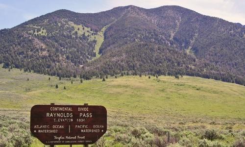 Island Park Idaho Continental Divide