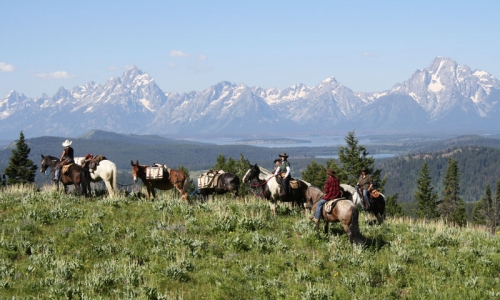 Horseback Riding Jackson Wyoming