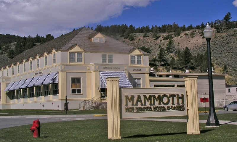 mammoth hot springs hotel & cabins, yellowstone - alltrips