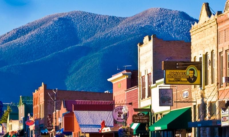Red Lodge Montana Downtown
