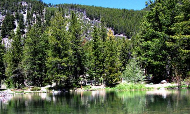 Wild Bill Lake in Custer National Forest