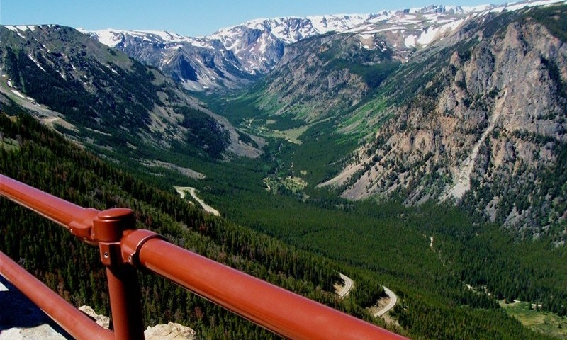 Yellowstone National Park Scenic Routes Driving Auto