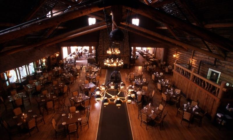 Old Faithful Inn Yellowstone Dining