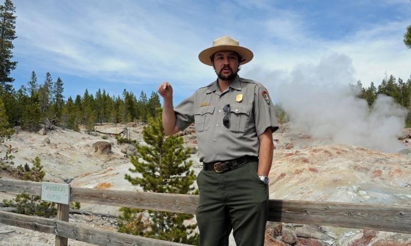 Ranger Talks Yellowstone