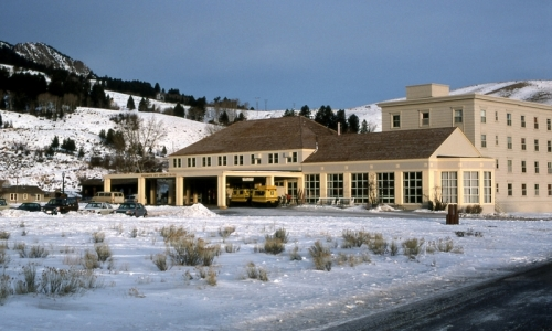 Mammoth Hot Springs Yellowstone Hotel