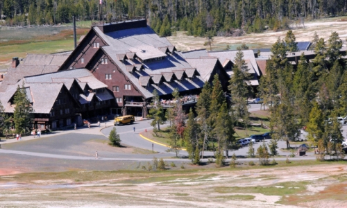 Yellowstone National Park Lodging Old Faithful Inn
