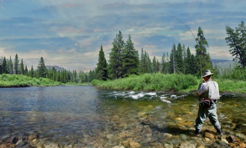 Slough Creek Yellowstone Fly Fishing Campground Alltrips
