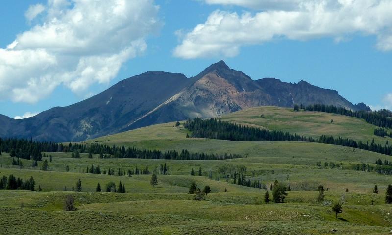 Electric Peak In Yellowstone Alltrips